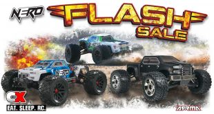 ARRMA NERO Flash Sale - Save Big for the Holidays