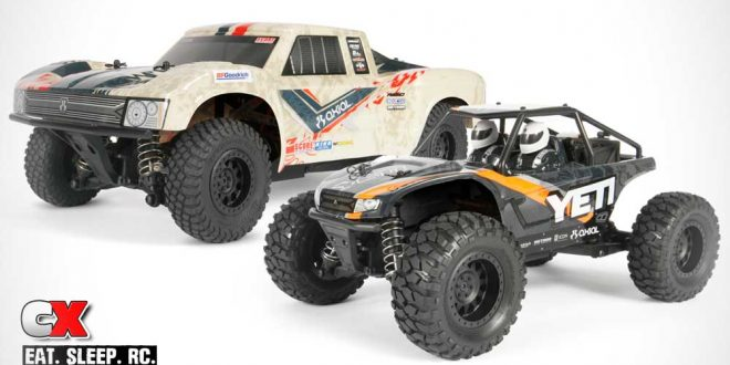 Axial Racing 1:18 Scale Yeti Jr and Yeti Jr. SCORE Trophy Truck
