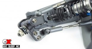 AVID RC Carbon Steering Block Arms for the Team Associated B6 Series