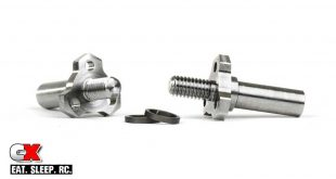 AVID RC Titanium Triad Steering Axles for the Team Associated B6 Series
