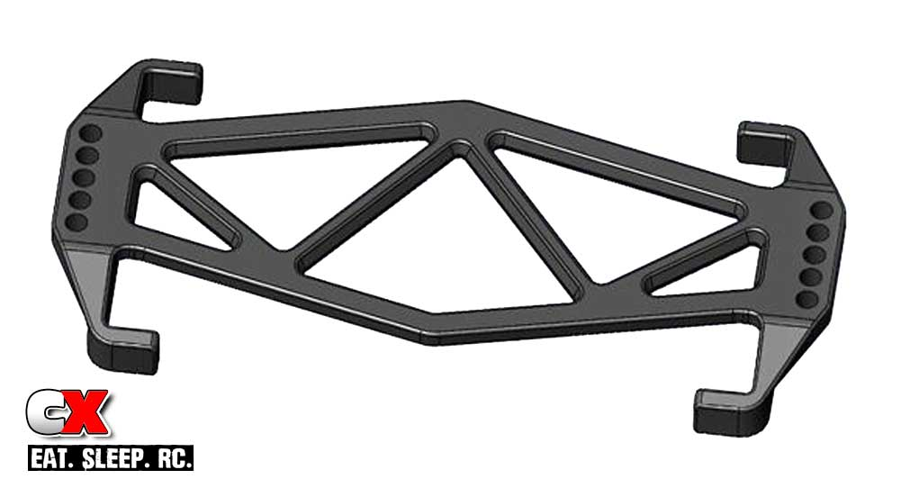 JConcepts Battery Brace for the Team Associated B6 Series - Two Versions