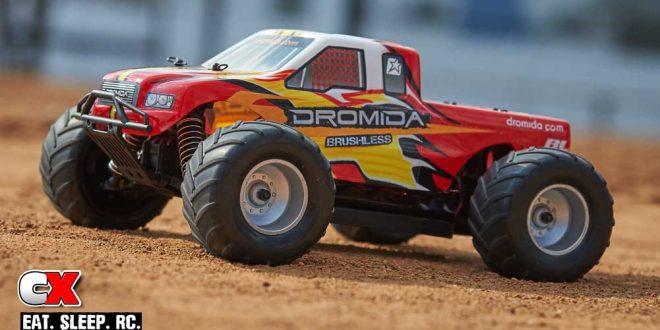Dromida 1:18 4WD Brushless Monster Truck RTR