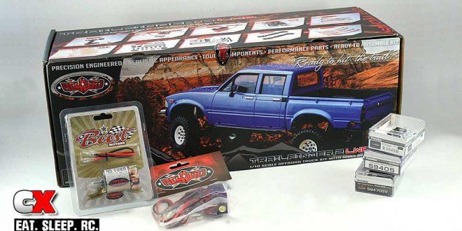 RC4WD Trail Finder 2 LWB Trail Truck Build