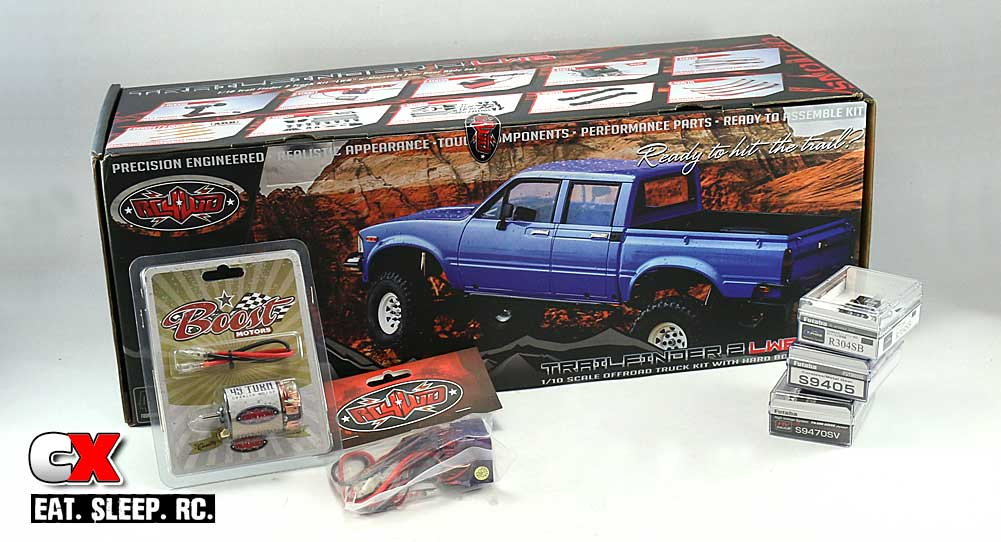 RC4WD Trail Finder 2 LWB Trail Truck Build