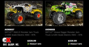 Axial SMT10 Grave Digger and MAX-D Price Change
