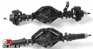 RC4WD Plastic D44 Complete Front and Rear Axles