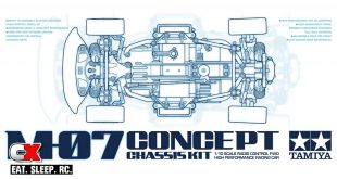 Tamiya M-07 Concept M-Chassis First Pictures