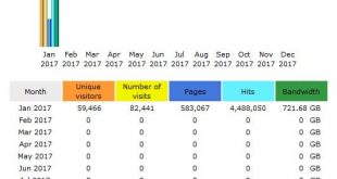 CompetitionX Site Statistics – January 2017