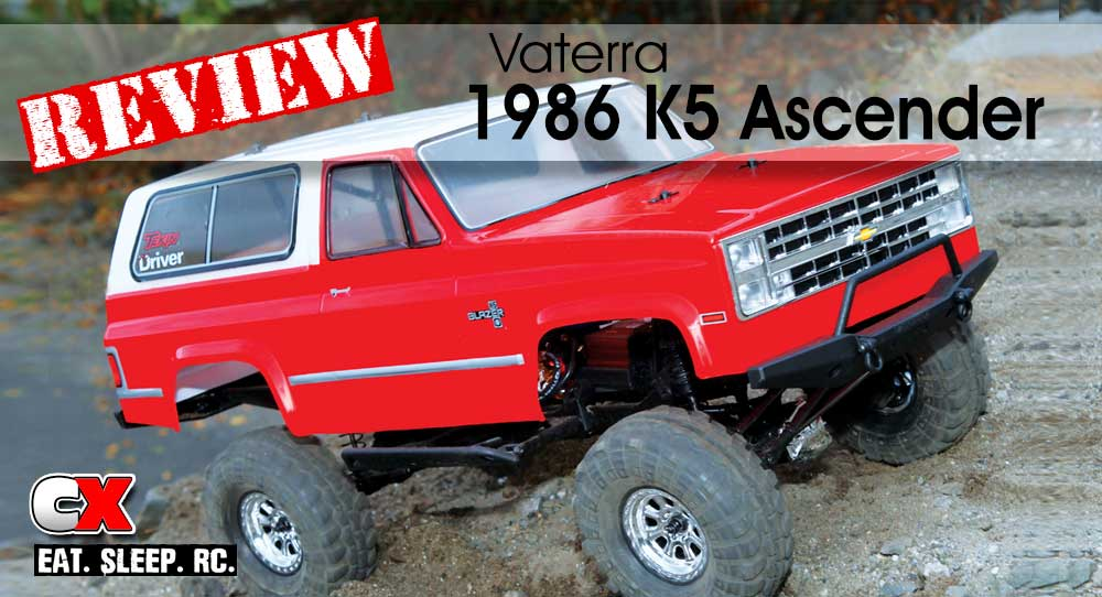 Review: Vaterra 1986 K5 Blazer Ascender Trail Truck