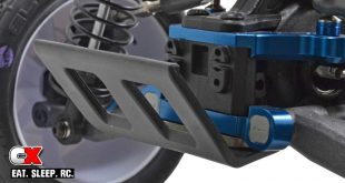 RPM Rear Bumper and Skid Plate for the Team Associated B6 / B6D