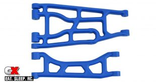 RPM Upper and Lower A-Arms for the Traxxas X-Maxx - in Blue