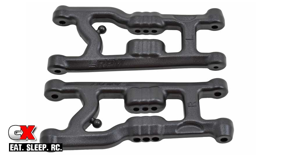 RPM Flat Front Suspension Arms for the Team Associated B6 / B6D