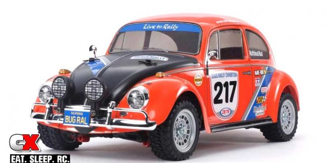 Tamiya VW Beetle Rally Edition MF-01X