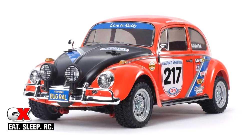 Tamiya VW Beetle Rally Edition MF-01X