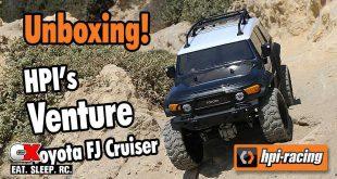 HPI Venture Toyota FJ Cruiser Unboxing