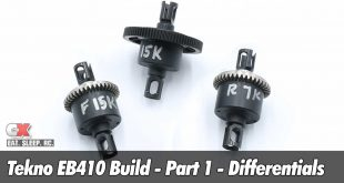 Tekno EB410 Build - Part 1 - Differentials