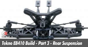 Tekno EB410 Build - Rear Suspension
