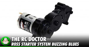 Buzzing Losi ROSS Starter System