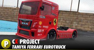 Project: Tamiya Ferrari EuroTruck - TT01E MAN TGS