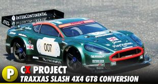 Project: Team STRC Traxxas Slash 4x4 GT8/Rally Cross Conversion Kit