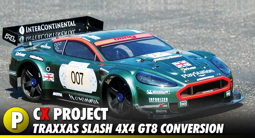 Project: Team STRC Traxxas Slash 4x4 GT8/Rally Cross