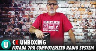 Futaba 7PX Computerized Radio System Unboxing