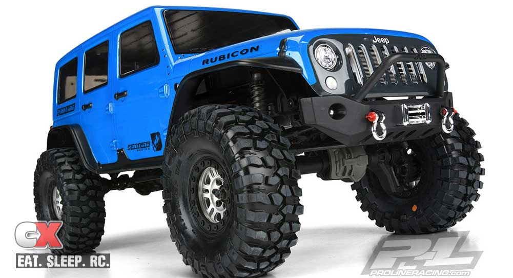 Pro-Line Racing Jeep Wrangler Unlimited Rubicon for the Traxxas TRX-4