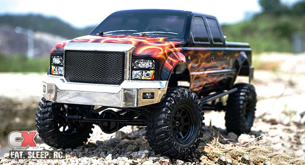 RC4WD Terrain RTR Truck with Crusher Body Set