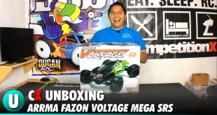 Arrma Fazon Voltage Mega SRS Unboxing