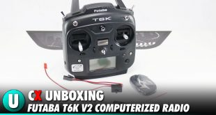 Futaba T6K V2 8-Channel Computerized Radio System Unboxing