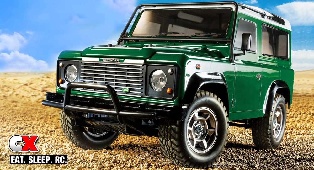 Tamiya Land Rover Defender 90 (CC-01 Chassis)