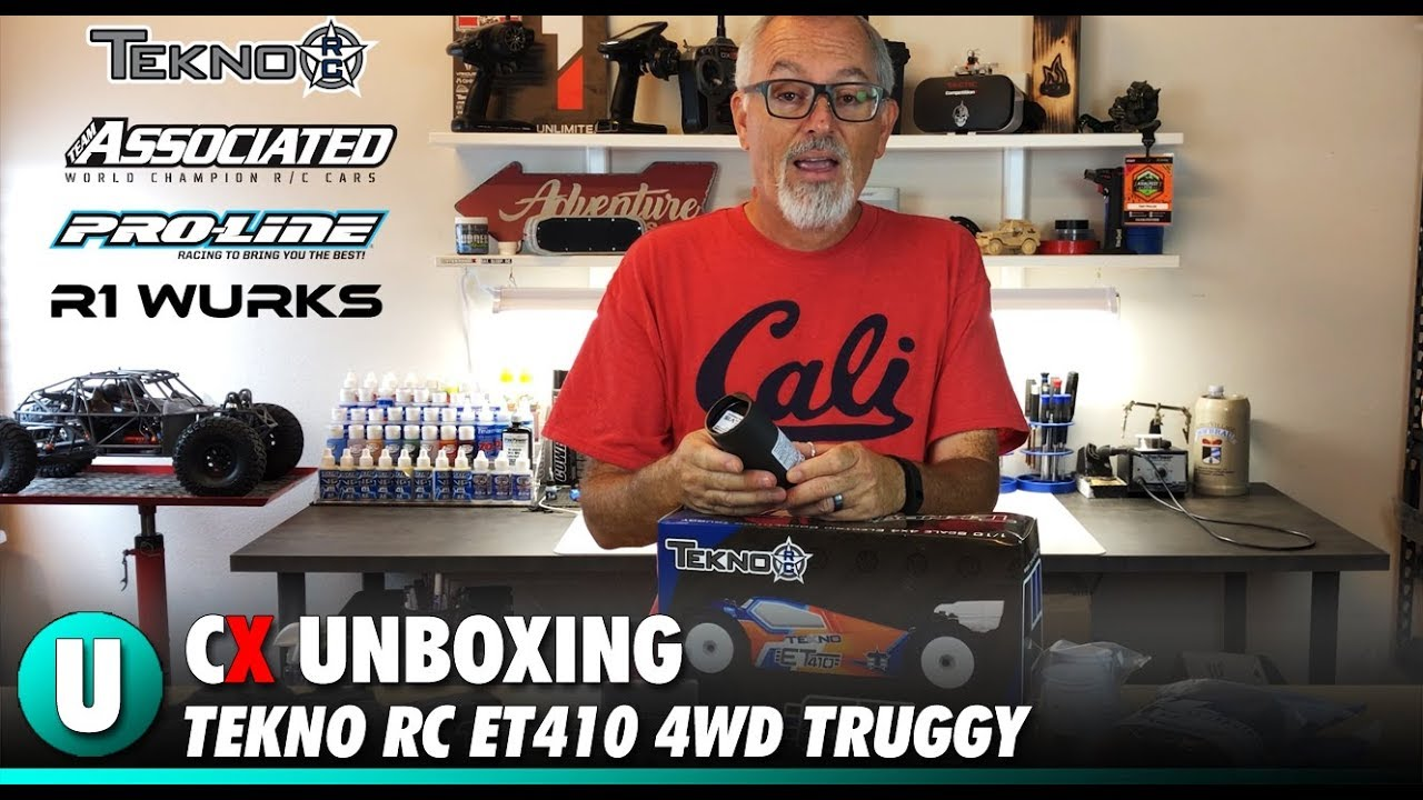 Tekno ET410 4WD Competition Truggy Unboxing | CompetitionX