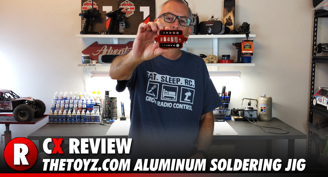 Review: TheToyz.com Aluminum RC Soldering Jig | CompetitionX