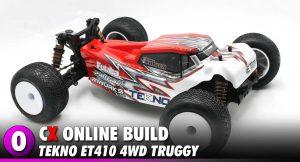 Tekno ET410 4WD 1:10 Truggy Build   CompetitionX