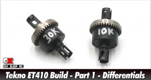 Tekno ET410 Build - Part 1 - Differentials | CompetitionX