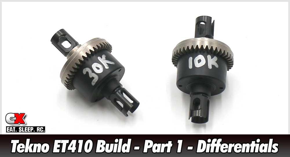 Tekno ET410 Build - Part 1 - Differentials | CompetitionX