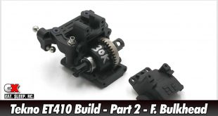 Tekno ET410 Build - Part 2 - Front Bulkhead | CompetitionX