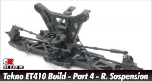 Tekno ET410 Build - Part 4 - Rear Suspension | CompetitionX