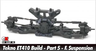 Tekno ET410 Build - Part 5 - Front Suspension | CompetitionX