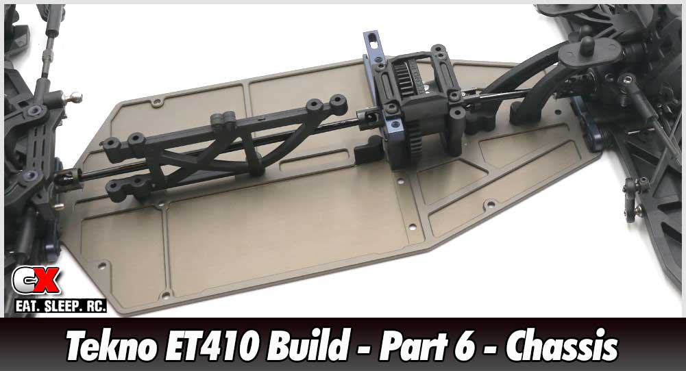 Tekno ET410 Build - Part 6 - Chassis Assembly | CompetitionX
