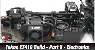 Tekno ET410 Build - Part 8 - Electronics | CompetitionX