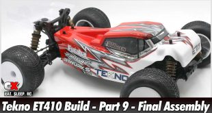 Tekno ET410 Build - Part 9 - Final Assembly | CompetitionX