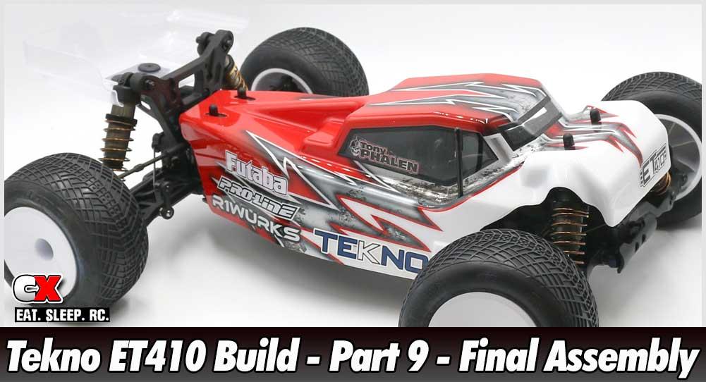 Tekno ET410 Build - Part 9 - Final Assembly | CompetitionX