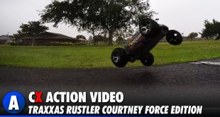 Traxxas Rustler Courtney Force - Rainy Day Drive in SoCal | CompetitionX