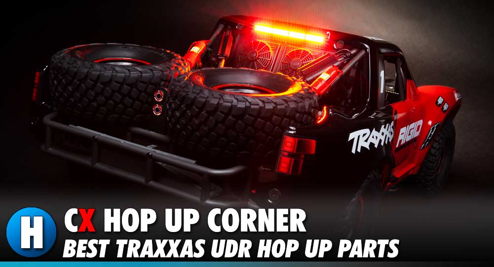 Hop Up Corner: Traxxas Unlimited Desert Racer | CompetitionX
