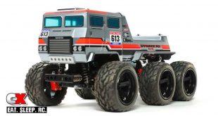 Tamiya Dynahead 6x6 G6-01TR 6-Wheel Offroad Truck | CompetitionX