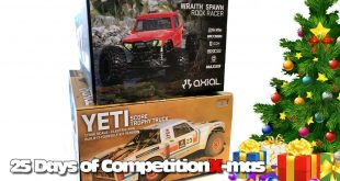 25 Days of CompetitionX-mas 2018 - Two Vehicles from Axial