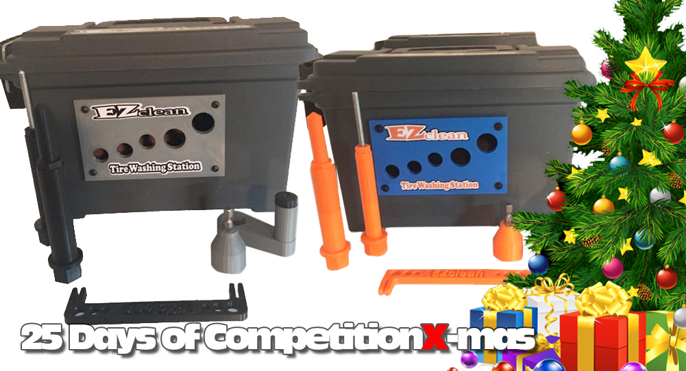 25 Days of CompetitionX-mas 2018 - EZ Clean Tire Washing Station | CompetitionX