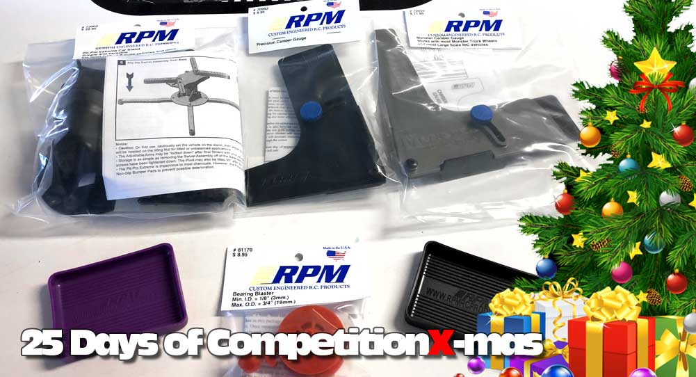 25 Days of CompetitionX-mas 2018 - RPM Parts Bundle | CompetitionX