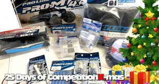 25 Days of CompetitionX-mas 2018 - Pro-Line's Big ol' Box of Stuff | CompetitionX